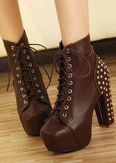 High heel boots  I want these but in black