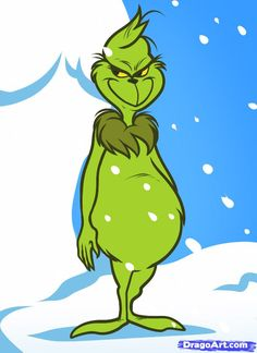 How to Draw the Grinch, the Grinch, Step by Step, Christmas Stuff, Seasonal, FREE Online Drawing Tutorial, Added by Dawn, November 23, 2011, 4:06:07 pm