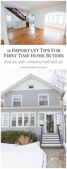 11 important tips for first time home buyers to help you find the perfect home! - First Home Buying - Ideas of First Home Buying - 11 important tips for first time home buyers to help you find the perfect home! Buying First Home, Home Buying Tips, Home Buying Process, First Time Home Buyers, Home Renovation, Home Remodeling, Trendy Home, Home Hacks, Home Improvement Projects