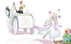Frozen Disney Anna, Cute Frozen, Frozen Elsa And Anna, Frozen Anime, Disney Princess Drawings, Disney Sketches, Disney Drawings, Disney Fan Art, Disney Love