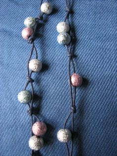 Silver blue pink sparkling hairfall by KatKeRosCorner on Etsy, $15.00