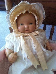 "16"" Effanbee Lambkins Composition Baby Doll"