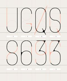 The pairing of the light orange with the gray looks great and I think the overlapping typography is very cool.