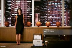 SUITS -- 'God's Green Earth' Episode 513 -- Pictured: Abigail Spencer as Dana Scott --