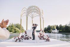 Los recién casados Anna y Artem