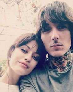Oliver Sykes and Alissa Salls