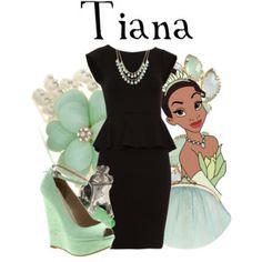 Same Dress Challenge: Tiana