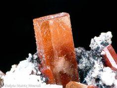 Topaz from Thomas Range, Juab Co., Utah, orthorhombic crystals