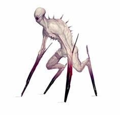 Some full body concepts for a horror game I've been working on recently. Monster Concept Art, Alien Concept Art, Creature Concept Art, Fantasy Monster, Monster Art, Creature Design, Monster Design, Elves Fantasy, Dark Creatures