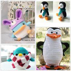 Amigurumi: Incríveis Receitas de Pinguins Amigurumis – Sophy Crochê