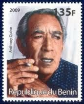 My Philatelic World: Postage Stamps of Men of Silver Screen 2009 bénin