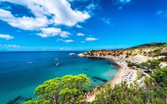 Luxury vacation to Ibiza. Why you should take a luxury holiday to North Ibiza this summer. Luxury villas in North Ibiza. An insider's guide to North Ibiza. Ibiza Strand, Spanish Islands, Dog Friendly Hotels, Ibiza Beach, Couples Vacation, Single Travel, Barcelona Travel, Balearic Islands, Vacation Packages