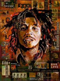 """Bob Marley"" by Ray Stephenson.  If you'd like this original painting or a giclee print, please E-Mail RayboMusic@bellsouth.net! - www.raystephenson.com ○○○  #reggae #music #Jamaica #art #painting #acrylic #legend #OneLove #ThreeLittleBirds #DontWorry #artwork #MusicArt #StirItUp"