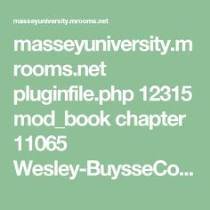 masseyuniversity.mrooms.net pluginfile.php 12315 mod_book chapter 11065 Wesley-BuysseCoP_Early_Intervention.pdf Early Intervention, Behavior, Core, Classroom, Student, Pdf, Education, Learning, Books