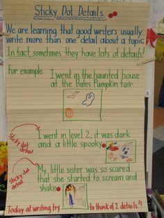 Joyful Learning In KC: Sticky Dot Details