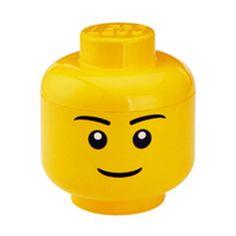 LEGO Storage Head Boy L, £13.50, now featured on Fab.