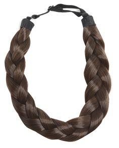ONLINE EXCLUSIVE Frankie Essex Braided Head Band - Plaited Headbands - Wigs & Hair Pieces