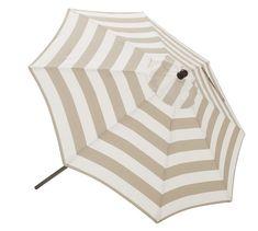 Round Market Umbrella - Stripe   Pottery Barn