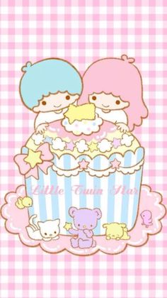 Little Twin Stars Wallpaper                                                                                                                                                                                 More