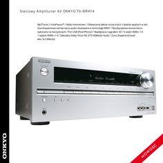 TX-NR414 - Sieciowy amplituner kina domowego 5.1
