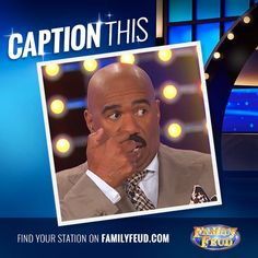 #CaptionThis guys!! Let's get creative!! #FamilyFeud