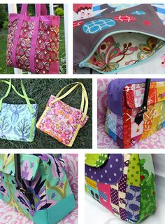 6 Bright Bags to Sew - Sewing Secrets - A Blog by Coats & Clark