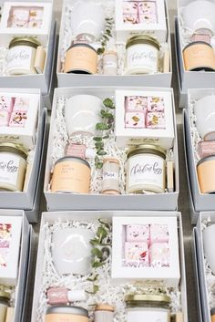 CUSTOM CLIENT GIFTS Marigold & Grey creates artisan gifts for all occasions. Wedding welcome gifts. Workshop swag. Client gifts. Corporate event gifts. Bridesmaid gifts. Groomsmen Gifts. Holiday Gifts. Order online or inquire about custom gift design. www.marigoldgrey.com Photo Credit- Lissa Ryan Photography