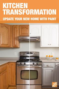 When planning updates for your new home, look for DIY projects to save money. Completely refresh your new space by painting the cabinets and updating the hardware. Click-through for the how to!