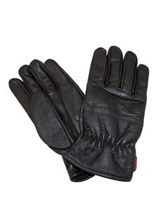 Prime Leather SIN Dedos Moto Ciclismo Guantes para Conducir Medio Dedo 309-312-313-314 312-Negro Mediana