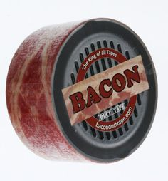 The big question on everyone's minds is whether or not it's edible? Best Bacon, Bacon Bacon, I Love Food, Good Food, Bacon Gifts, Bacon Shirt, Bacon Funny, Piggly Wiggly