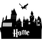 hogwarts silhouette - ...