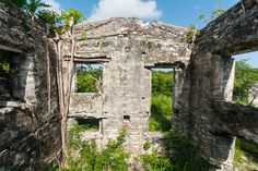 Ruins of Wade's Green Plantation, North Caicos, Turks and Caicos Islands. Carnival Freedom, Grace Bay Beach, British Overseas Territories, Destinations, Beaches In The World, Turks And Caicos, Island Life, Fantasy World, Abandoned Places