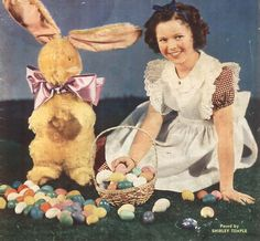 Shirley Temple. Easter