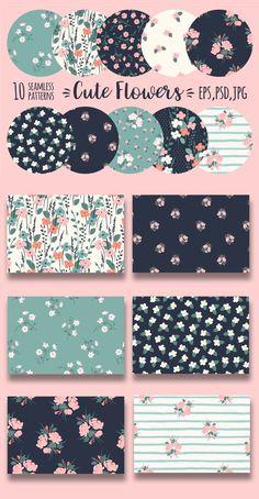Doodle Patterns, Textile Patterns, Print Patterns, Floral Patterns, Pattern Paper, Pattern Art, Notebook Cover Design, Floral Illustrations, Pattern Illustration