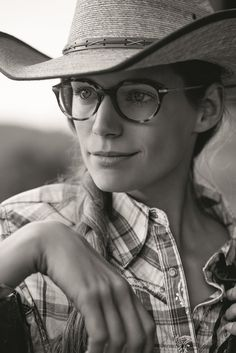 ade8ed75c9d2 ... Giorgio Armani glasses.  FramesofLife. Nicole is a charming Miss Rodeo  from Oregon who takes us inside her ranch. 