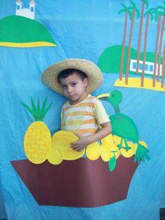 tarsila do amaral - o vendedor de frutas-releitura1 - Atividades para Educação Infantil
