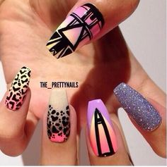Nail Art Stiletto nails