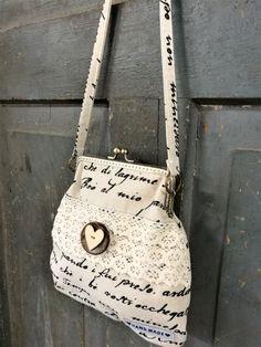 Roseliini: Kassi, tarvikepaketti, tee se itse, diy, ompelu, pitsi Bucket Bag, Bags, Handbags, Bag, Totes, Hand Bags