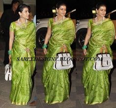 GREEN PARROTS IKAT SILK SAREE - Google Search