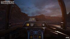 ArtStation - (2015) Star Wars Battlefront - Vehicle Cockpit Interiors, Carl…