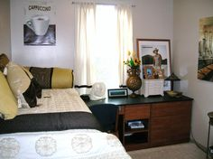 Nice Dorm Room Design: 18 Stylish And Functional College Spaces : Decorating :  Home U0026 Garden Television Part 27