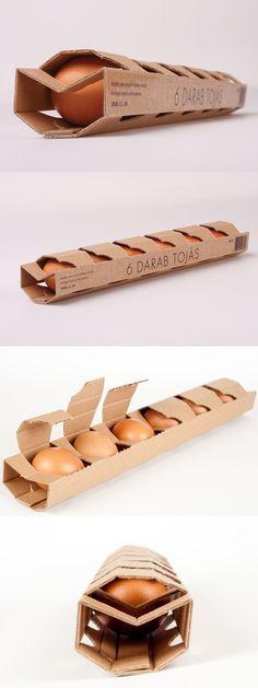 Embalagem pra ovos