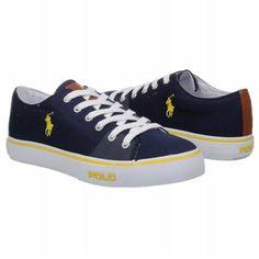 Polo by Ralph Lauren Cantor Low Shoes (Navy) - Men's Shoes - D Polo Shoes, Men's Shoes, Polo Fashion, Navy Man, Polo Ralph Lauren, Converse, Sneakers, Tennis, Man Shoes