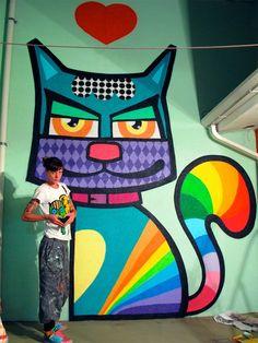 47. Minhau (Beyond Banksy Project)  - São Paulo - Brésil.