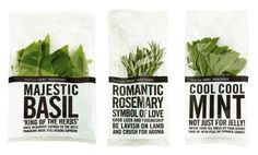 ' Waitrose Herbs have a lot to say for themselves. Each minimally packaged pot carries bold tabloid style text, telling you everything you may not already know about the contents. Guest herbs make an exclusive and seasonal appearance with a splash of red in the headline. Herbs are as rich in myth and magic as they are in flavour and nutrition. This was a great opportunity to spread the word and present some real shelf talkers.' Designed by Lewis Moberly.
