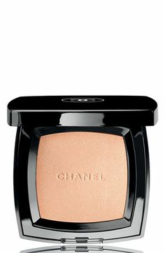 CHANEL POUDRE UNIVERSELLE COMPACT NATURAL FINISH PRESSED POWDER in #1. I love this pressed powder! A must have for any woman's handbag.