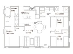 5 Small Home Floor Plans Under 1000 Sq Ft Floor Plans Under Sq Ft Stylist Design