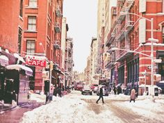 Poster | NEW YORK CITY SNOW IN SO von Vivienne Gucwa | more posters at http://moreposter.de