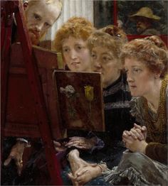 A Family Group - Sir Lawrence Alma-Tadema, 1896