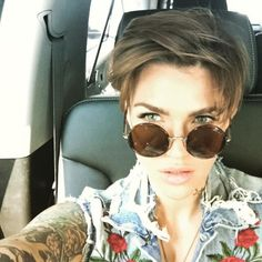Ruby Rose hair                                                                                                                                                      More